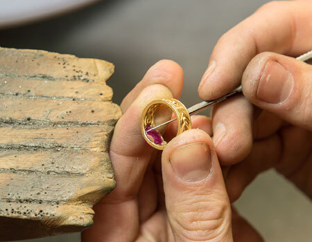 Ring Repair Service at Stephens Jewellers